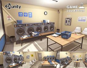 3D model Launderette Interior