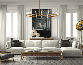 Restoration Hardware Set 6 3D model