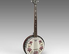 Guitar Banjo 3D