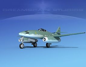 3D model Messerschmitt ME-262A1 Swallow V03