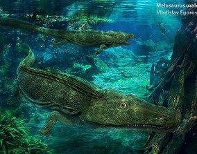 Melosaurus uralensis 3D asset