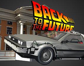3D DeLorean - Back To The Future