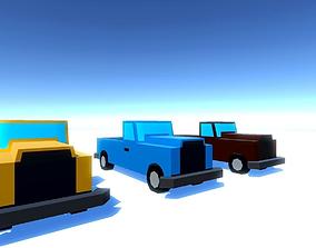 3D model Small Trucks