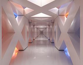 Corridor scene 3D