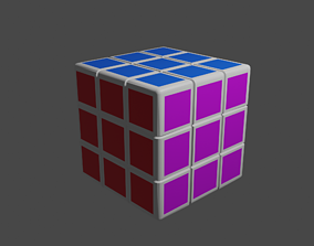 toy 3D model Cube Toy