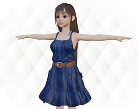 3D asset Zoya Beautiful realistic Girl character
