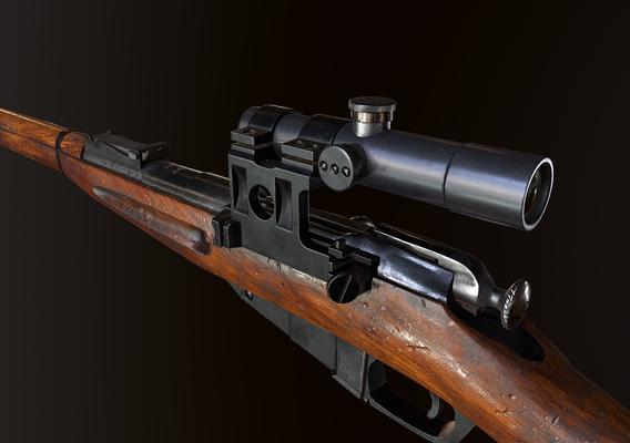 Mosin WW2 ussr Rifle