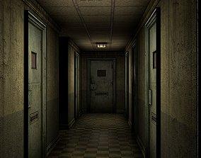 Insane Asylum Corridor 3D model
