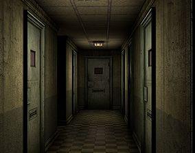 3D Insane Asylum Corridor