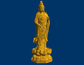 Bodhisattva 3D STL model for CNC Router mill relief