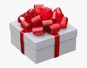 3D Christmas gift box 07