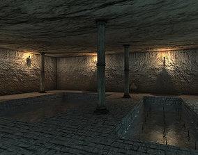 Desert level 3D asset