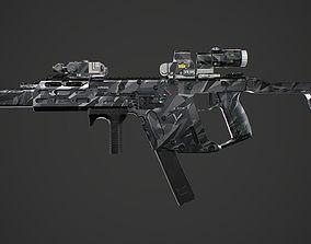 Kriss Vector gen2 camouflage 3D asset