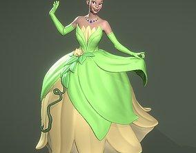 art Princess Tiana 3D printable model
