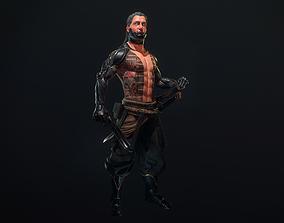 Cyborg Yasha 3D asset