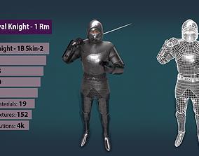 TAB Medieval Knight - 1Rm B - Skin2 3D model