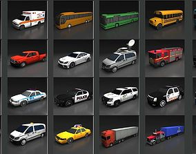 Extreme Vehicle Pack 3D model
