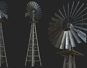 Old Steel Mill PBR 3D asset low-poly