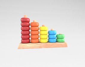 3D model Abacus Toy v1 001