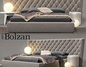 3D model Bed Bolzan Selene Large