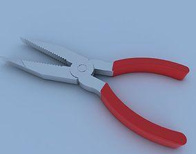 3D model VR / AR ready Pliers