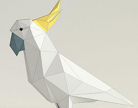 3D print model parrot cockatoo