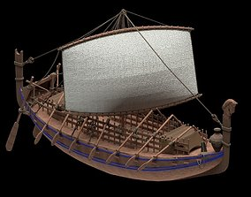3D model Phoenician Ship
