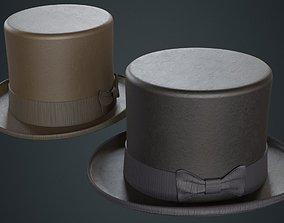 3D asset Top Hat 2A