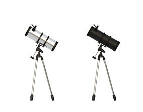 3D model Astronomical Telescope