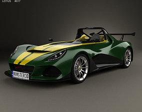 3D model Lotus 3-Eleven 2016