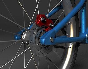 3D model game-ready BMX Bike