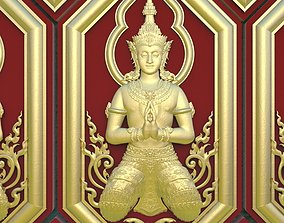Thai Pattern Set For decorate 3D Print or CnC
