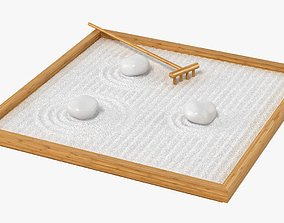 3D Table Zengarden