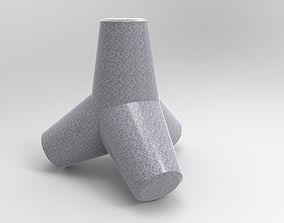 3D model Tetrapod