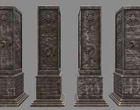 3D model pillar 5