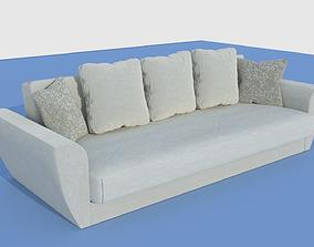 sofa corduroy 3D model