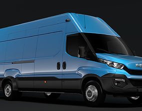 3D model Iveco Daily Van L4H3 2014-2016