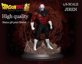 Beautifull statue Jiren 3D print model kit