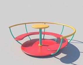 seat Carousel 3D model