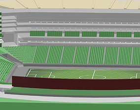 Santos Laguna - Estadio Corona 3D printable model