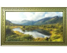 3D model Painting framed