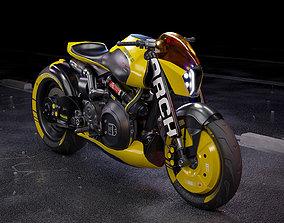 3D model Cyberpunk ARCH Motorcycle cyberpunk