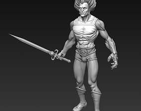 3D print model Lion-o Thundercats Figure with Sword of 4