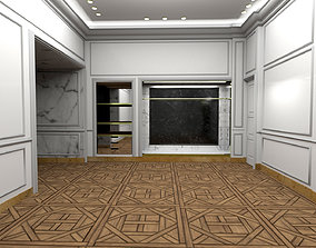 3D asset French Interior showroom