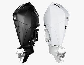 3D Mercury Fourstroke 300hp v8 Outboard Motor