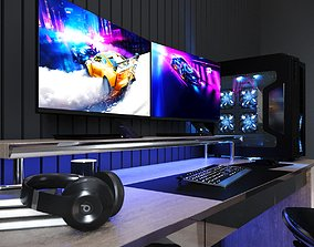 deskstop 3D gaming furnature
