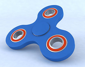 Hand spinner Toy 3D model