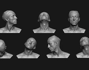 3D print model Neck Anatomy Reference Set