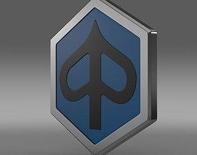 Piaggio logo 3D model