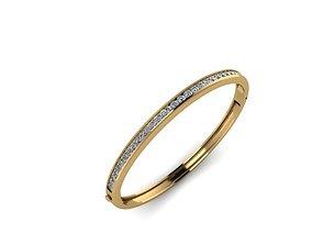 diamond bangle 16 3D printable model